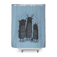 Four Spirits - shower-curtain - small view