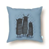 Four Spirits - throw-pillow - small view