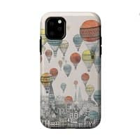 Voyages Over Edinburgh - double-duty-phone-case - small view