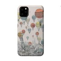 Voyages Over Edinburgh - perfect-fit-phone-case - small view