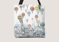 Voyages Over Edinburgh - tote-bag - small view