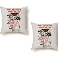 Welcome to Twin Peaks - throw-pillow - small view