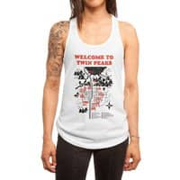 Welcome to Twin Peaks - womens-racerback-tank - small view