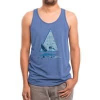 Bermuda Triangle - mens-triblend-tank - small view