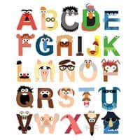 Muppet Alphabet - small view