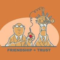 Friendship = Trust - small view