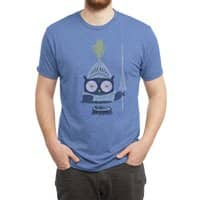 Knight Owl - mens-triblend-tee - small view