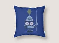Knight Owl - throw-pillow - small view