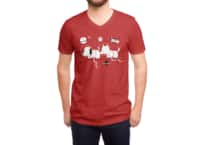 Astro Dogs - vneck - small view