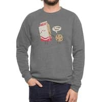 Cookie Loves Milk - crew-sweatshirt - small view