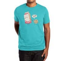 Cookie Loves Milk - mens-extra-soft-tee - small view