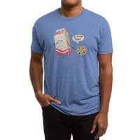 Cookie Loves Milk - mens-triblend-tee - small view