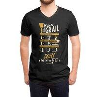 The Three Trials - vneck - small view