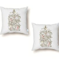 Bad Tempered Rodents - throw-pillow - small view