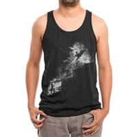 Tell My Wife I Love Her Very Much, She Knows - mens-triblend-tank - small view