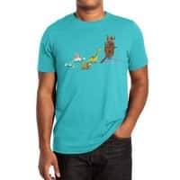 Nice Try, Dinosaurs! - mens-extra-soft-tee - small view