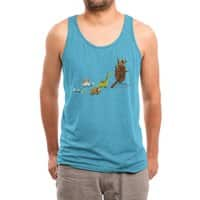 Nice Try, Dinosaurs! - mens-triblend-tank - small view