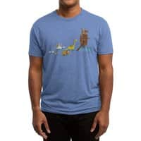 Nice Try, Dinosaurs! - mens-triblend-tee - small view