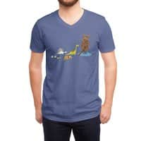 Nice Try, Dinosaurs! - vneck - small view