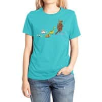 Nice Try, Dinosaurs! - womens-extra-soft-tee - small view