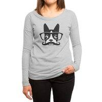 Boston Intellectual - womens-long-sleeve-terry-scoop - small view