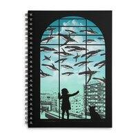 Off The Beaten Track - spiral-notebook - small view
