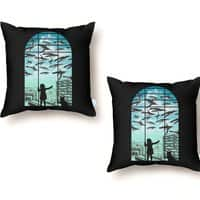 Off The Beaten Track - throw-pillow - small view