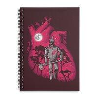 Heart Seeker - spiral-notebook - small view