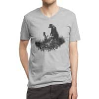 The Bear Encounter - vneck - small view