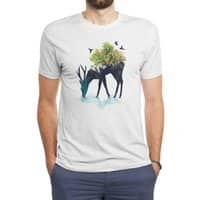 Watering (A Life Into Itself) - mens-triblend-tee - small view