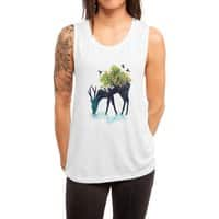 Watering (A Life Into Itself) - womens-muscle-tank - small view