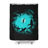 The Deep - shower-curtain - small view