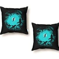 The Deep - throw-pillow - small view