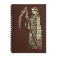 Grim Poetry - spiral-notebook - small view