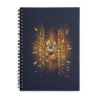 The Gift Of Knowledge - spiral-notebook - small view