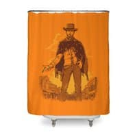 Rubber Band Duel - shower-curtain - small view