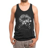 Time Travel - mens-triblend-tank - small view