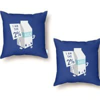 Occupy The Fridge  - throw-pillow - small view
