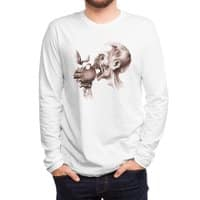 Vegetarian Zombie - mens-long-sleeve-tee - small view
