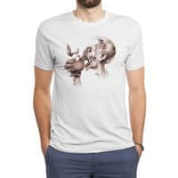 Vegetarian Zombie - mens-triblend-tee - small view