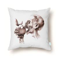 Vegetarian Zombie - throw-pillow - small view