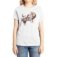 Vegetarian Zombie - womens-extra-soft-tee - small view
