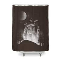 I Met A Robot - shower-curtain - small view