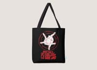 EVERY TIME A CAT CLEANS ITSELF IT IS WORSHIPPING THE DARK LORD - tote-bag - small view