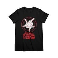 EVERY TIME A CAT CLEANS ITSELF IT IS WORSHIPPING THE DARK LORD - womens-premium-tee - small view