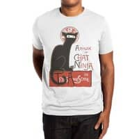 A French Ninja Cat! - mens-extra-soft-tee - small view