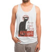 A French Ninja Cat! - mens-triblend-tank - small view
