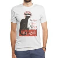 A French Ninja Cat! - mens-triblend-tee - small view
