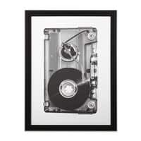 Prototype - black-vertical-framed-print - small view