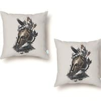 Legends Fall - throw-pillow - small view